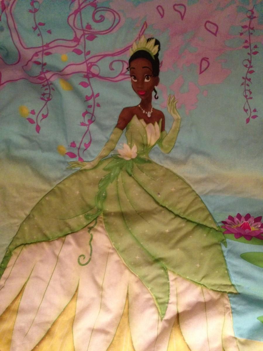Tiana, Princess Tiana, Tiana blanket, Princess Tiana blanket, Princess and the Frog