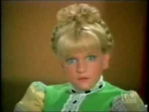 Cindy Brady, stage fright