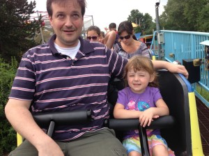 Sutton and the Daddy Who Doesn't Like Roller Coasters