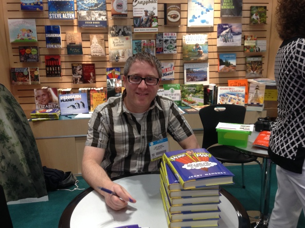 Me at BookExpo America 2014