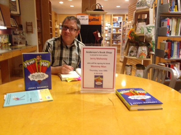 Mommy Man, Jerry Mahoney, Anderson's Book Shop