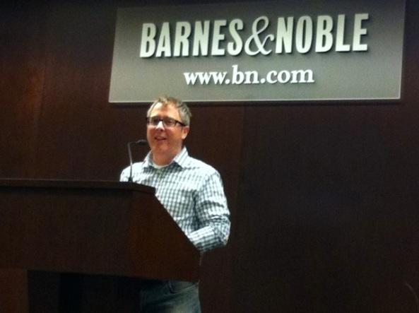 Mommy Man, Jerry Mahoney, Barnes & Noble UWS