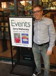 Mommy Man, Jerry Mahoney, Barnes & Noble UWS