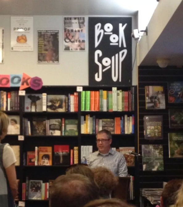 Jerry Mahoney, Mommy Man, Book Soup